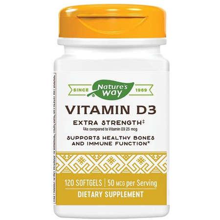 Supliment alimentar Vitamin D3 2000UI Nature's Way 120 capsule