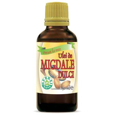 Ulei de Migdale dulci HERBALSANA presat la rece 50 ml