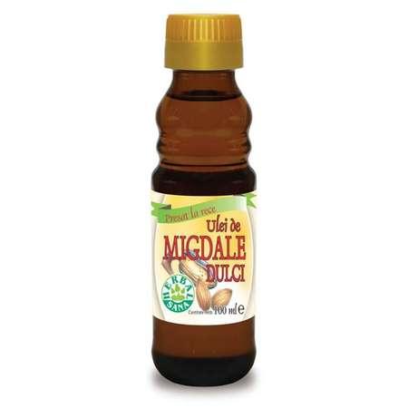 Ulei de Migdale dulci HERBALSANA Presat la Rece 100 ml