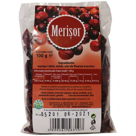 Merisor confiat HERBALSANA 100 grame