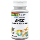Supliment alimentar AHCC plus NAC & Beta Glucan Solaray 30 capsule