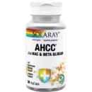 Supliment alimentar AHCC plus NAC & Beta Glucan Solaray 30 capsule