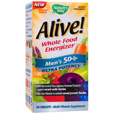 Supliment alimentar Alive Men's 50+ Ultra Nature's Way 30 tablete