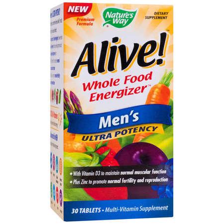 Supliment alimentar Alive Men's Ultra Nature's Way 30 tablete