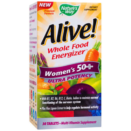 Supliment alimentar Alive Women's 50+ Ultra Nature's Way 30 tablete