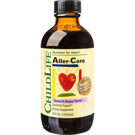 Supliment alimentar Aller-Care ChildLife Essentials 118.50ml gust de struguri