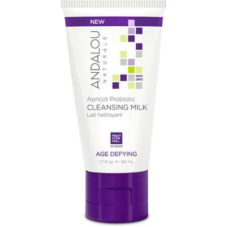 Lapte de curatare Apricot Probiotic Cleansing Milk Andalou Naturals 50ml