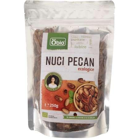 Nuci Pecan Raw Eco Obio 250 grame