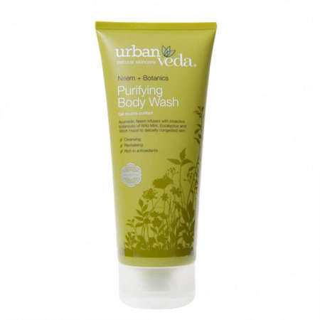 Gel de Dus cu Ulei de Neem Organic, Purifying - Urban Veda 200 ml