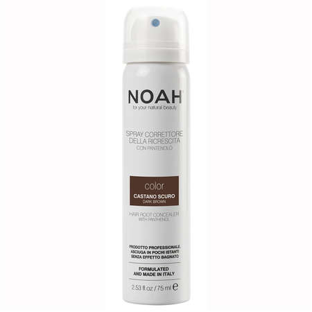 Spray Corector cu Vitamina B5 Noah pentru Acoperirea Radacinii Parului CASTANIU INCHIS 75 ml