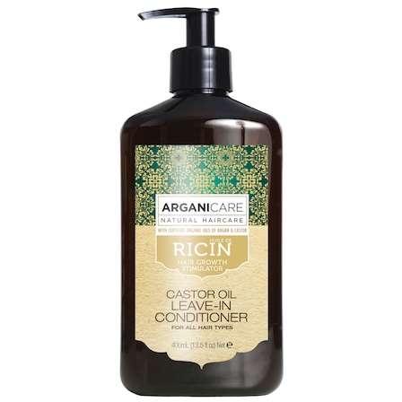 Balsam fara Clatire Ultra-Hidratant Arganicare cu Ulei de Ricin 400ml