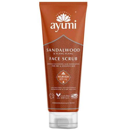 Exfoliant Facial Ayumi cu Lemn de Santal si Ylang Ylang 125ml